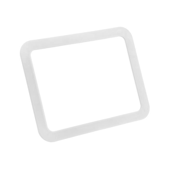 Зеркало LuazON KZ-01, подсветка, настольное, 14 диодов, 4хАА (не в комплекте), белое
