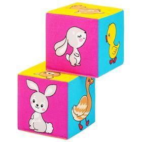 Набор мягких кубиков «Мама и Малыш»