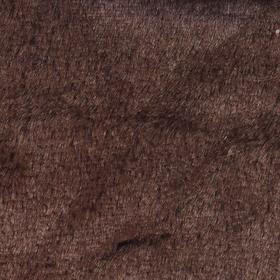 Мех на трикотажной основе цвет темно коричневый, ширина 155 см Ош