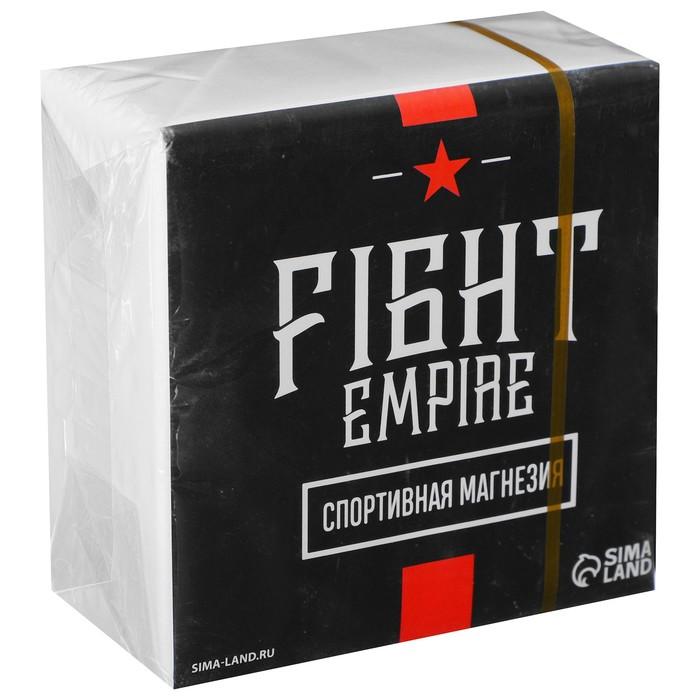 Спортивная магнезия в брикете Fight empire