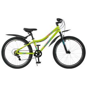 Велосипед 24' Forward Iris 1.0, 2021, цвет зеленый/бирюзовый, размер 12' Ош