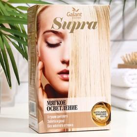 Мягкое осветление Supra с натуральным маслом, экстрактом белого льна, витаминами A, E, F