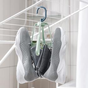 Сушилка для обуви подвесная, 18×18×24 см, цвет МИКС Ош
