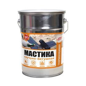Мастика каучуко-битумная Царицынские краски 15 кг Ош