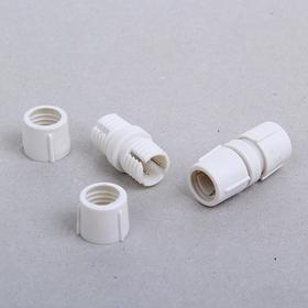 Коннектор для дюралайта 11 мм, 2W, прямой Ош
