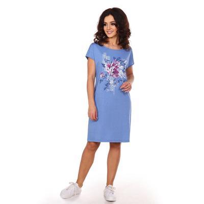 Платье женское «Джейн», цвет голубой, размер 46