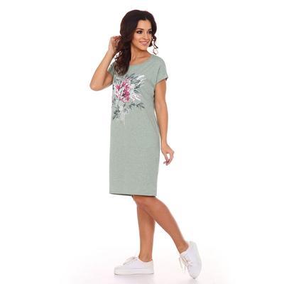 Платье женское «Джейн», цвет пудрово-зеленый, размер 46
