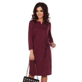 Платье женское «Эмма», цвет брусника, размер 46