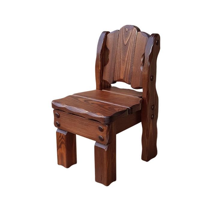 Детский стул «Машенька», 300 × 350 × 600 мм, сосна, цвет старый орех