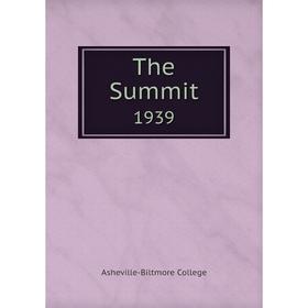 Книга The Summit 1939