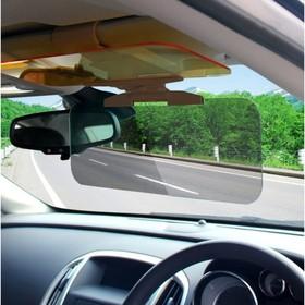 Экран для защиты от встречных фар и солнца, 32х17 см, на солнцезащитный козырек Ош