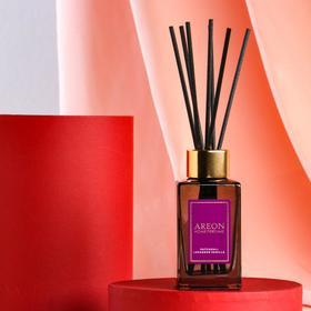 "Ароматический диффузор для дома Areon Sticks Premium, 85 мл, ""Patchouli-lavender"""