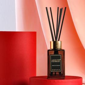 """Ароматический диффузор для дома Areon Sticks Premium, 85 мл, """"Vanilla Black"""""""