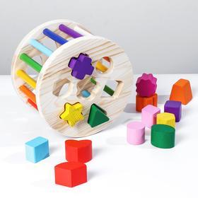 Логический игровой набор «Сортер. Радуга» 15 деталей
