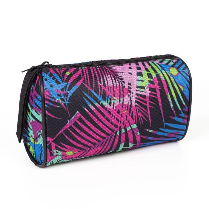 Косметичка-сумочка, отдел на молнии, цвет чёрный
