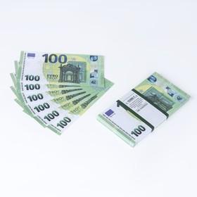Пачка купюр 100 евро Ош
