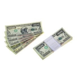 Пачка купюр 1000000 долларов Ош