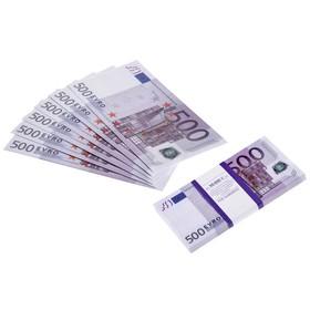 Пачка купюр 500 евро Ош