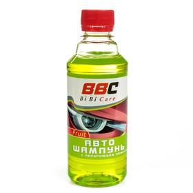 Автошампунь BiBiCare концентрат с полирующим эффектом, фруктовый,  280 мл Ош