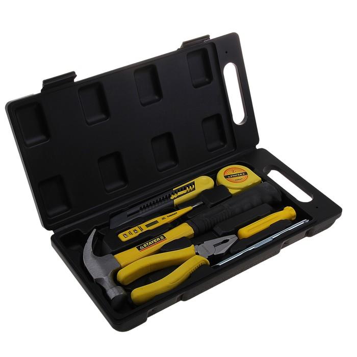 Набор инструментов для ремонтных работ Stayer Standard Техник, 7 предметов