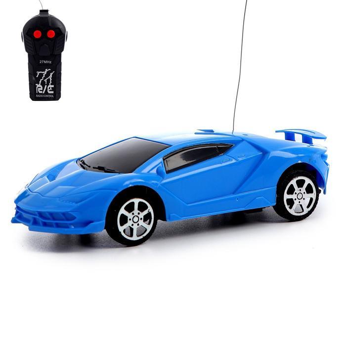 Машина радиоуправляемая Купе, работает от батареек, МИКС