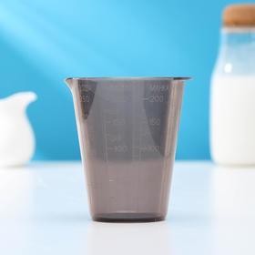 Мерный стакан, 9×8 см, цвет грозовое небо