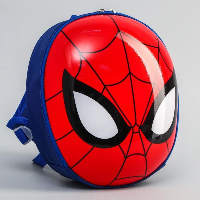 купить Ранец с жестким карманом, Человек-паук
