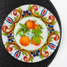 Блюдо сервировочное Vellarti «Южный колорит», d=21,5 см
