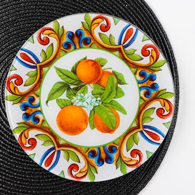 Блюдо сервировочное «Южный колорит», d=21,5 см - Фото 1