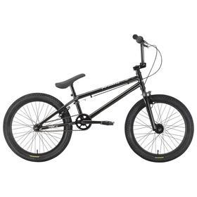 Велосипед 20' Stark Madness BMX 1, цвет черный/серебристый Ош