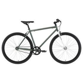 Велосипед 28' Stark Terros 700 S, цвет зеленый/белый, размер 20' Ош