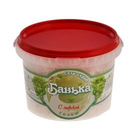 """Соль-скраб """"Банька"""" с морской солью, в пэт ведре, 550 г"""