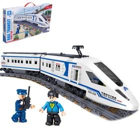 Конструктор Скоростной поезд, 513 деталей