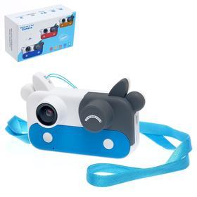 Детский фотоаппарат 'Коровка', цвет синий Ош