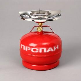 Газовый комплект «Дачник»: баллон 5 л, горелка Ош