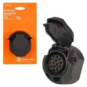 Розетка фаркопа 13 контактов ЕВРО пластик Ош