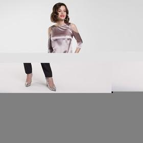 Блузка женская, размер 42, цвет розовый