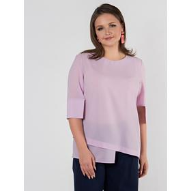 Блузка женская, размер 46, цвет лавандовый
