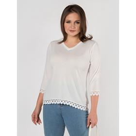 Кофта женская, размер 46, цвет белый