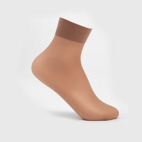 Носки женские INNAMORE Fiori 20 ден (2 пары) цвет бежевый (daino)