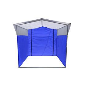 Торгово-выставочная палатка ТВП-1,5х1,5 м, цвет сине-белый Ош
