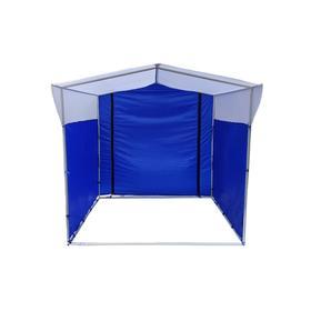 Торгово-выставочная палатка ТВП-2,0х2,5 м, цвет сине-белый Ош