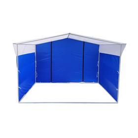 Торгово-выставочная палатка ТВП-2,0х3,0 м, цвет сине-белый Ош