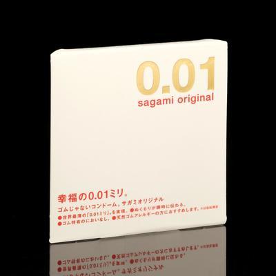 Презервативы Sagami Original 001, 1 шт./уп. - Фото 1
