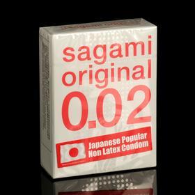 Презервативы Sagami Original 002, 3 шт./уп.