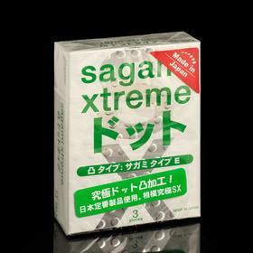 Презервативы Sagami Xtreme Type-E , 3 шт./уп.