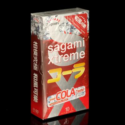Презервативы Sagami Xtreme COLA , 10 шт./уп - Фото 1