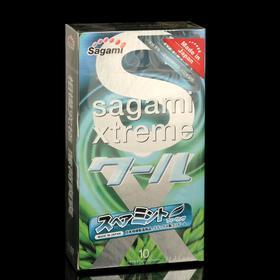 Презервативы Sagami Xtreme Mint, 10 шт./уп.