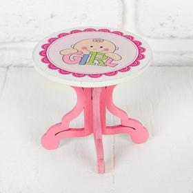 Столик для кукол, размер 9х8х9 см, виды МИКС Ош