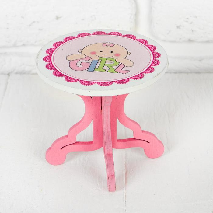 Столик для кукол, размер 989 см, виды МИКС
